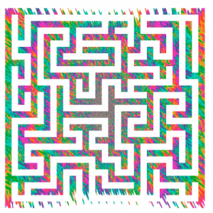 psychedelic-maze